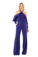 Tracy High Waist Wide Leg Pant