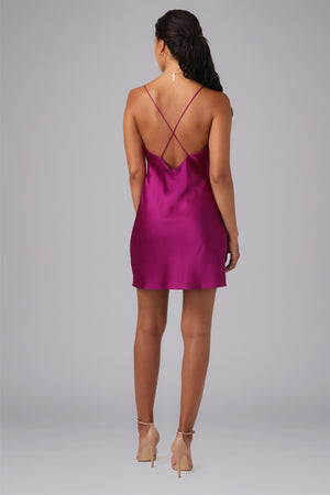 BALDWIN COWL MINI DRESS