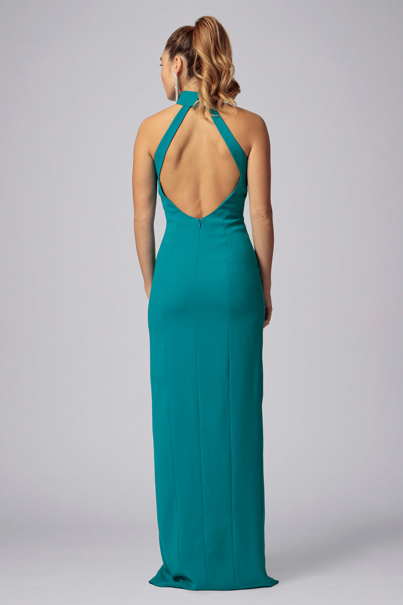 CARLAH OPEN BACK GOWN