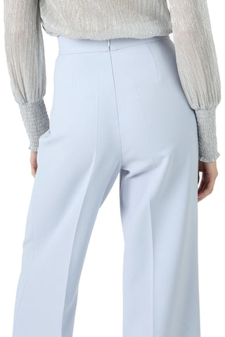 BUSCH ICE BLUE LACE-UP WIDE LEG PANT