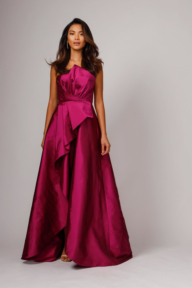 CALLIE STRAPLESS GOWN