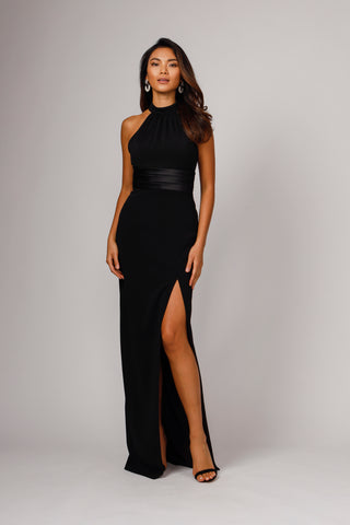 SIMONE HIGH NECK GOWN