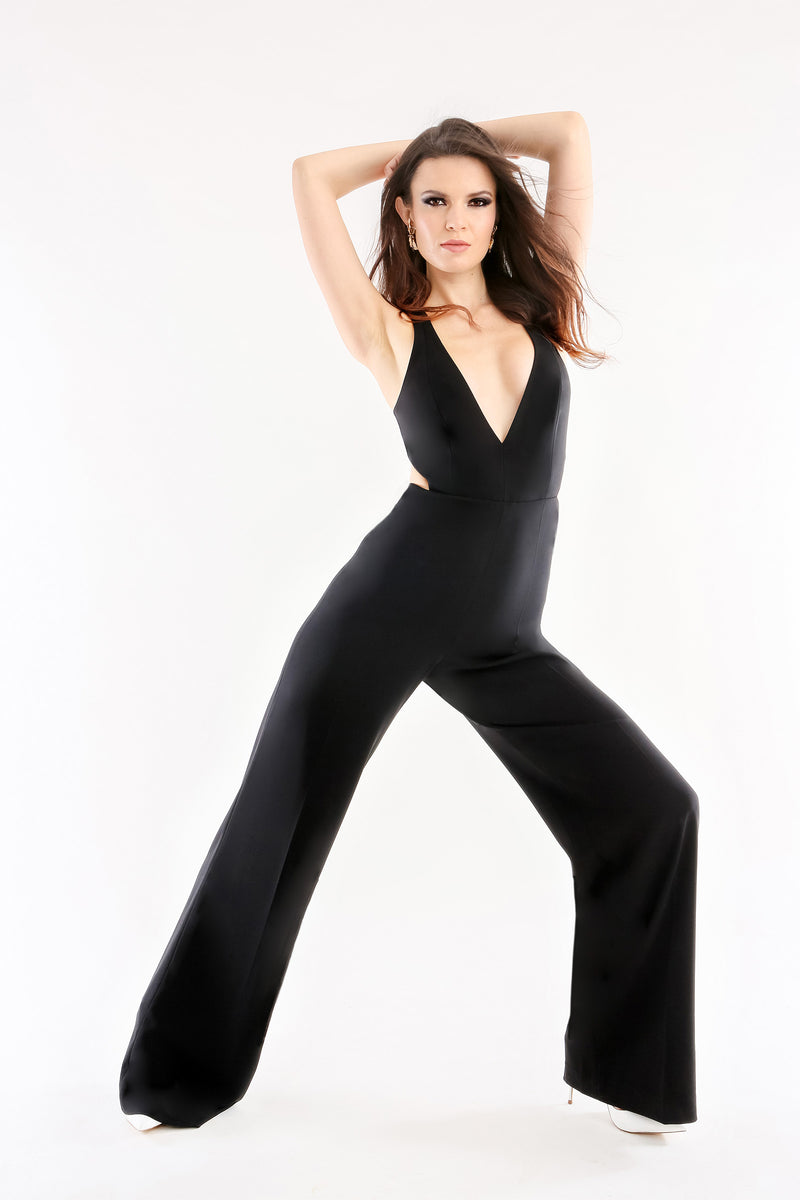 Rooney Jumpsuit Black Jay Godfrey
