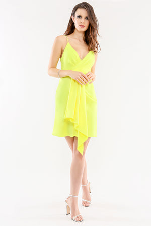 Feig Mini Dress Citrine Jay Godfrey