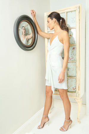 Feig Mini Dress Light Ivory Jay Godfrey