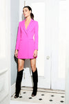 Ace Mini Dress Neon Fuchsia Jay Godfrey