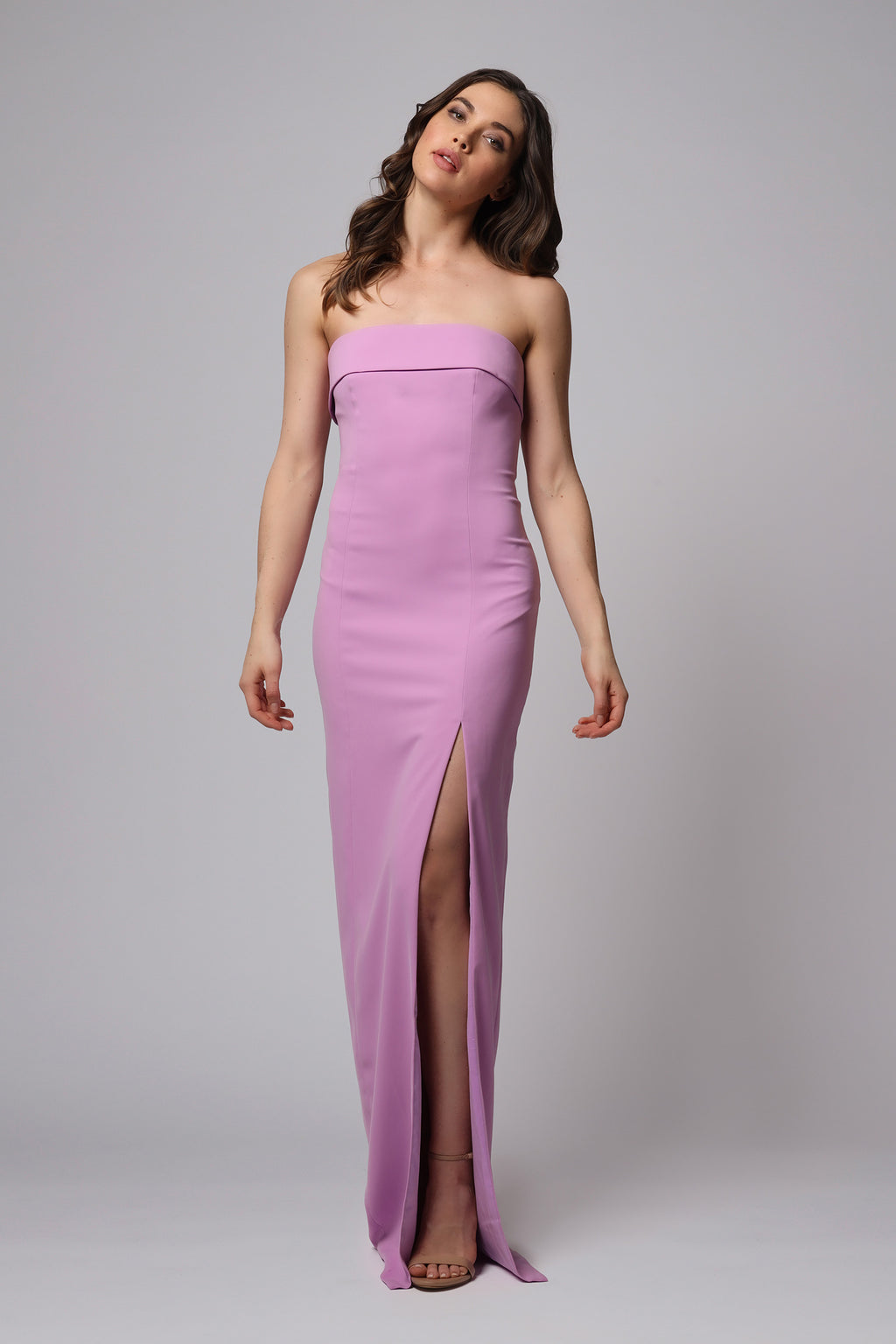 OLIVER STRAPLESS GOWN