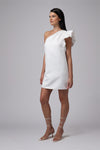 CALGARY ONE SHOULDER MINI DRESS