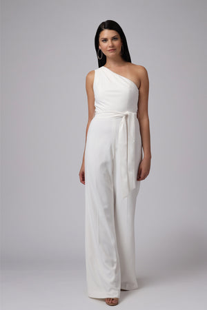 NADINE ONE SHOULDER JUMPSUIT