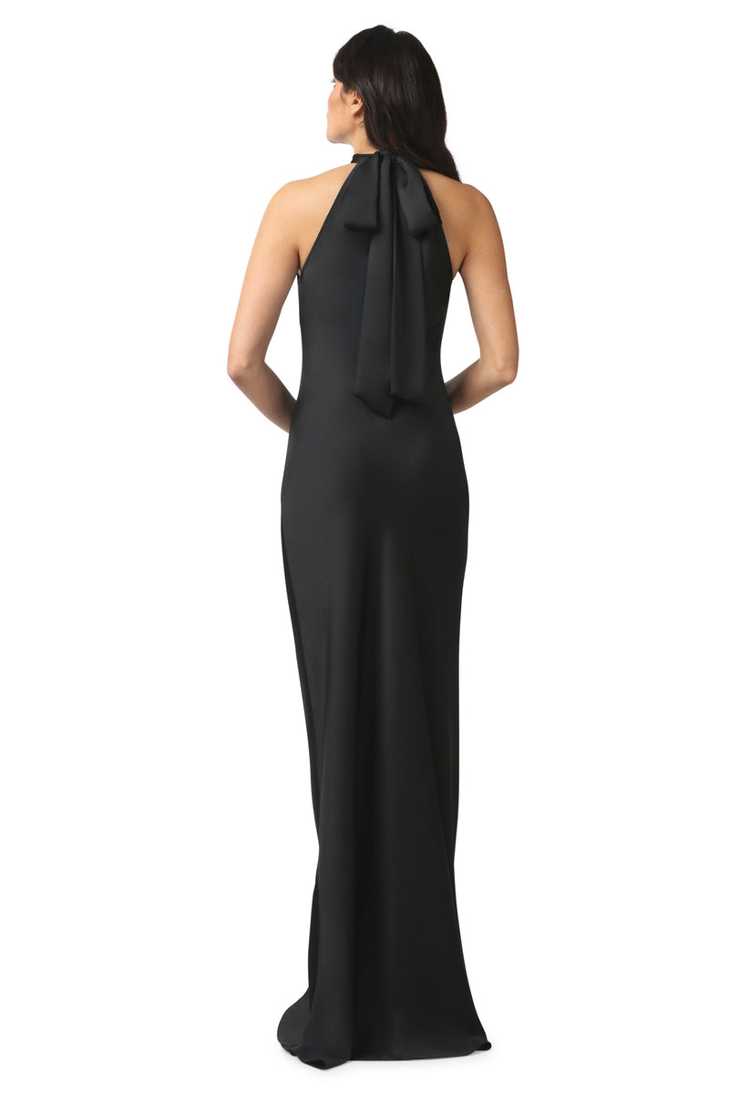 BRISCO HIGH NECK GOWN