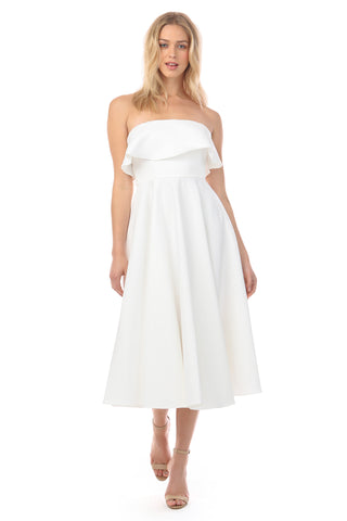 CAMPBELL WHITE DRESS