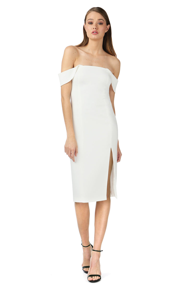 DOWNIE MIDI DRESS