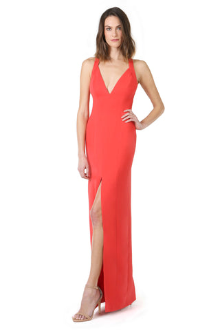 Joey Gown Fire Red Jay Godfrey