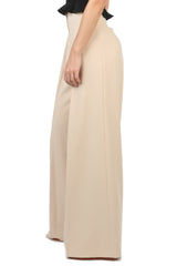 Jay Godfrey Sand Wide-Leg Pants - Side View