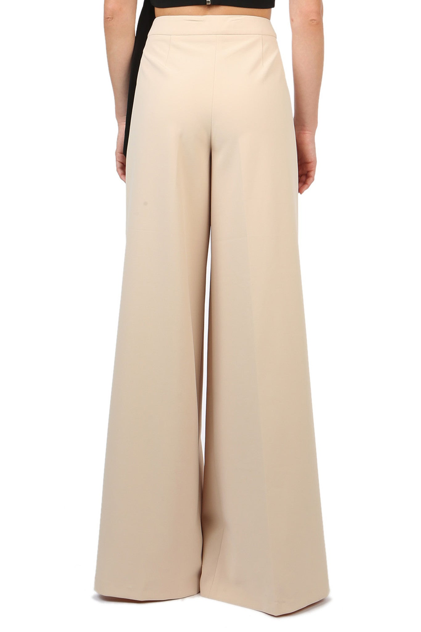 Jay Godfrey Sand Wide-Leg Pants - Back View