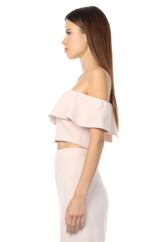 BLAIR SAND OFF-THE-SHOULDER TOP
