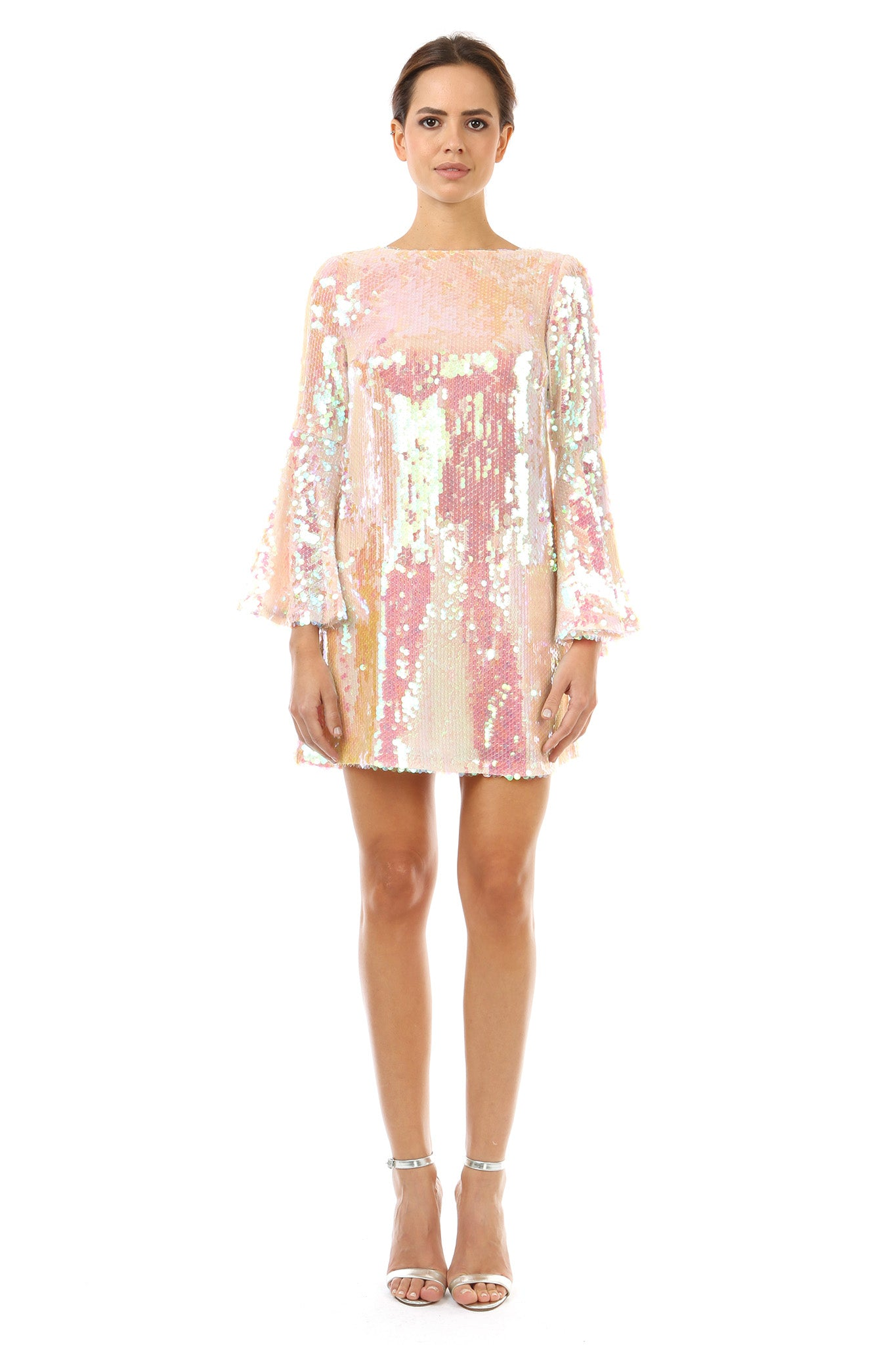Sequin Cocktail Dresses with Sleeves