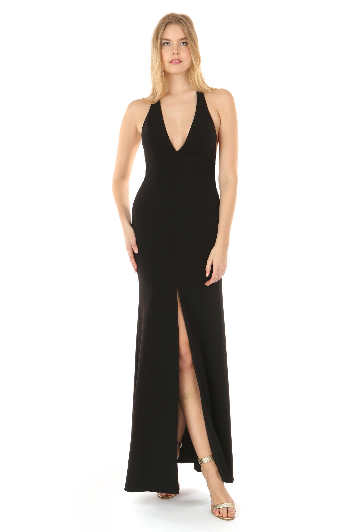LENA BLACK GOWN