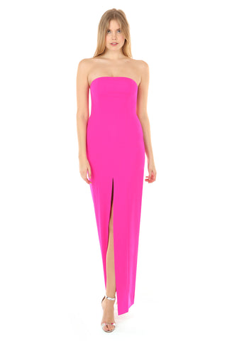 MARTELL BRIGHT FUCHSIA GOWN