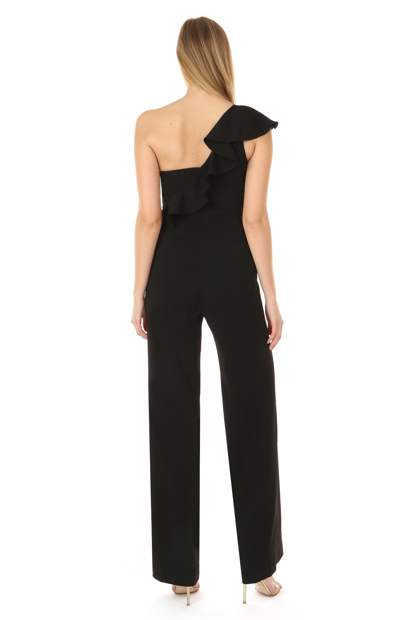 MEREEN BLACK JUMPSUIT