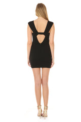 SOPHIE BLACK MINI DRESS
