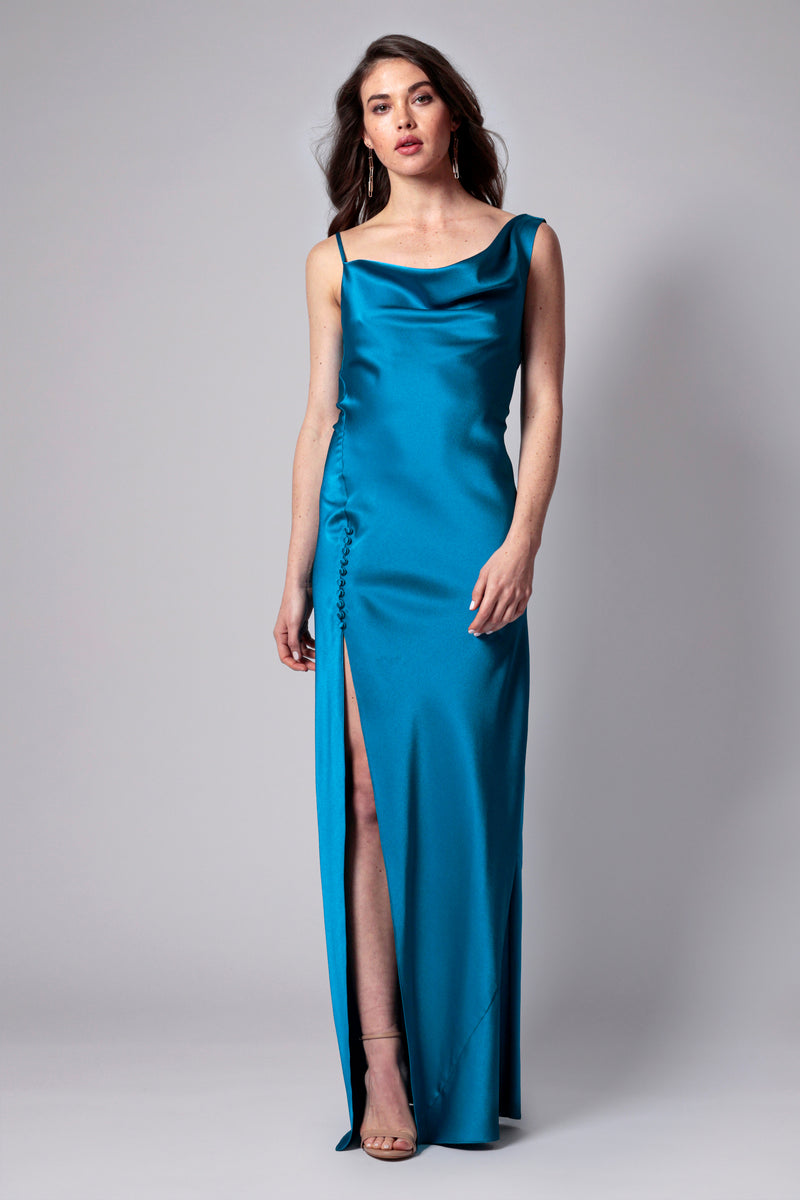 JUSTINE BIAS CUT GOWN