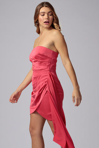 MILTON STRAPLESS MINI DRESS
