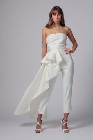 SKY STRAPLESS JUMPSUIT