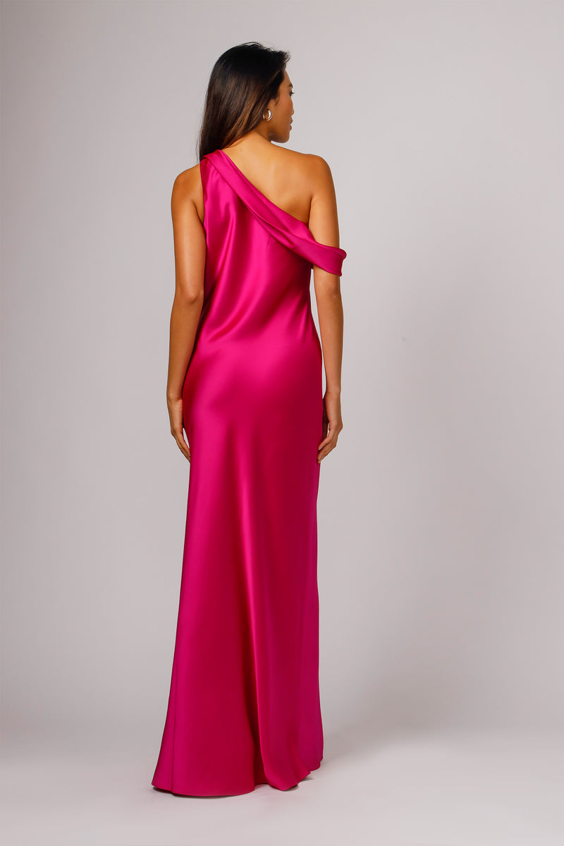 THEA ONE SHOULDER GOWN