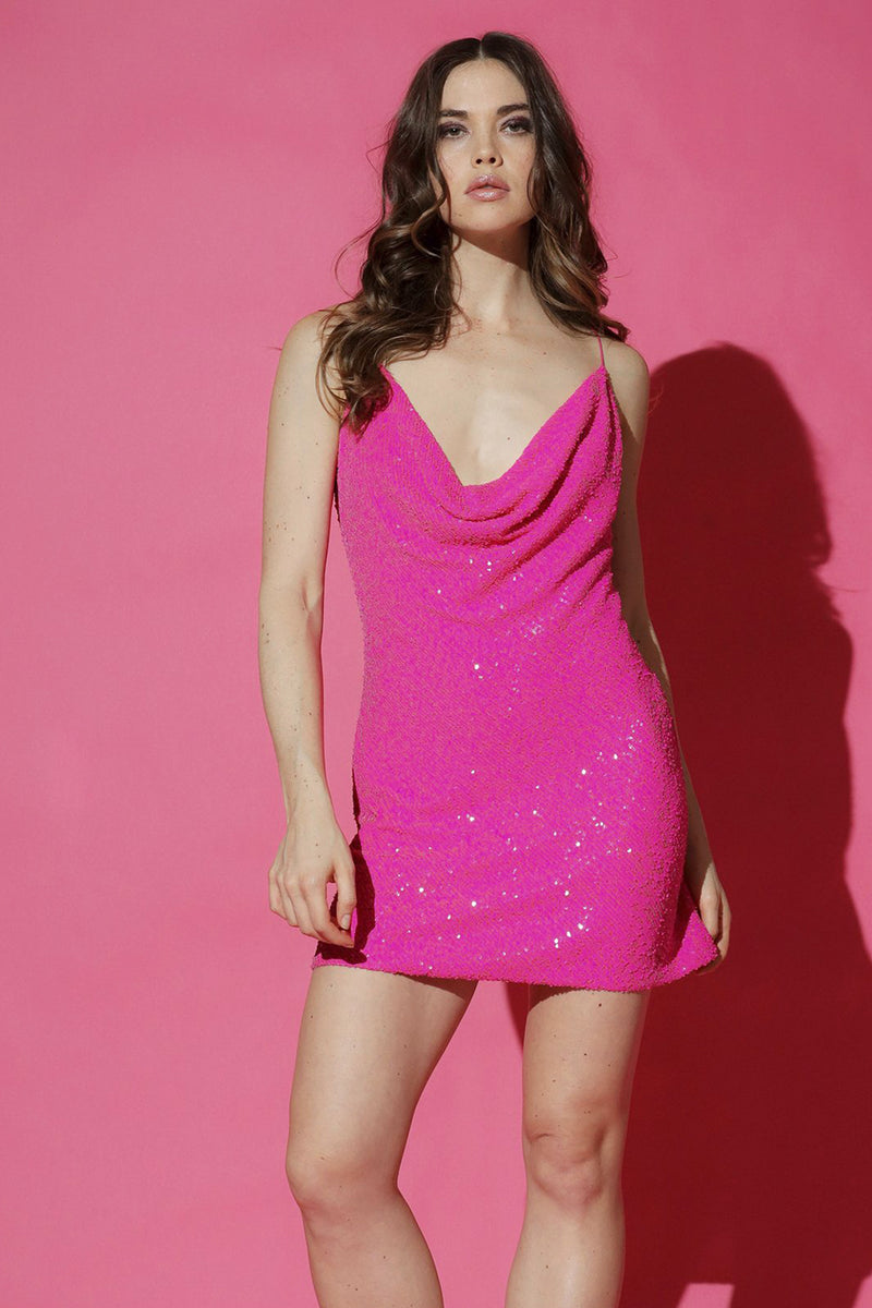 BALDWIN SEQUIN MINI DRESS