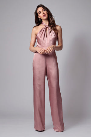 KIM KNOT NECK JUMPSUIT