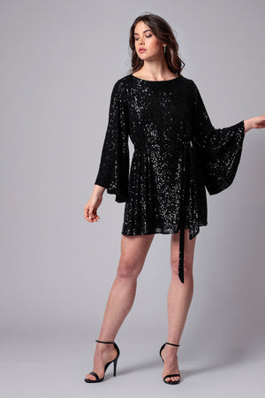 MAGGIE SEQUIN MINI DRESS