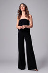 MOORE STRAPLESS JUMPSUIT