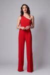 PAOLA ONE SHOULDER JUMPSUIT