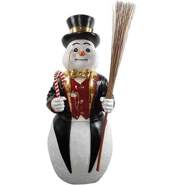 """AFD Frosty The Snowman 48 """" Tall Statuary AFD Multi"""