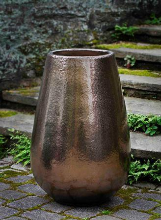 Campania International Glazed Terra cotta Barolo Planter Urn/Planter Campania International