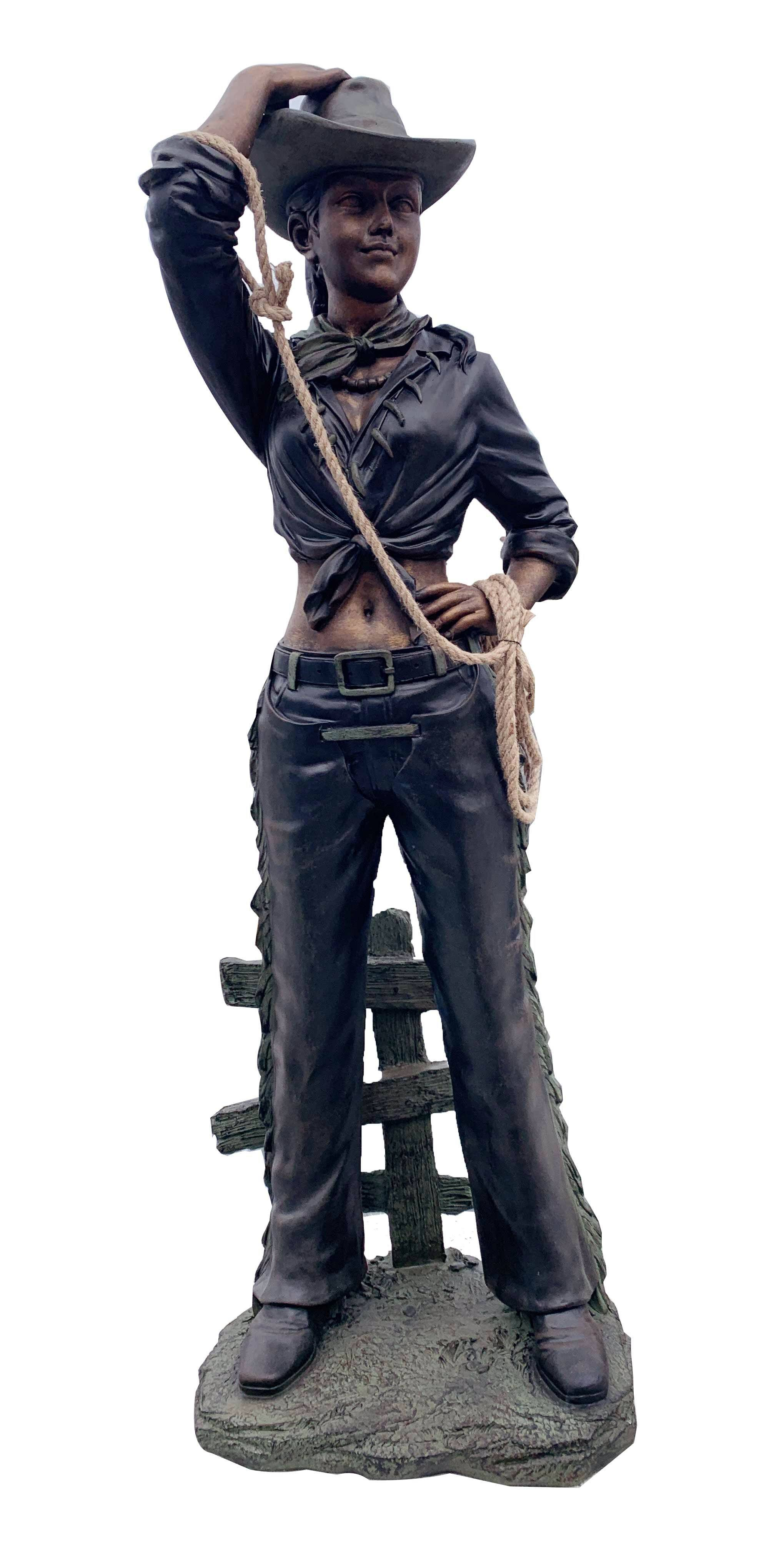AFD Cow Girl W Rope Décor AFD Bronze Green