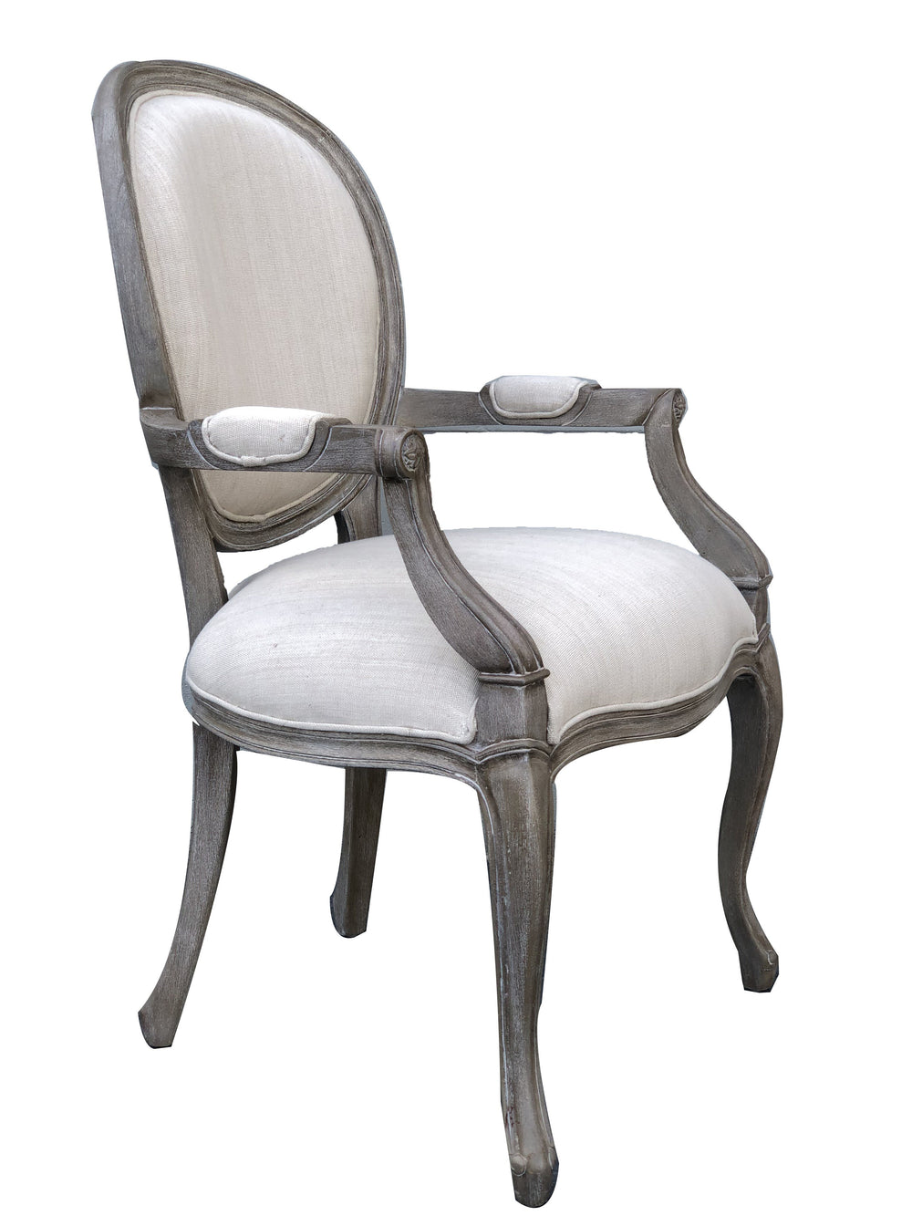 AFD Mystique Mahogany Casual Dining With Arm Chairs AFD Grey