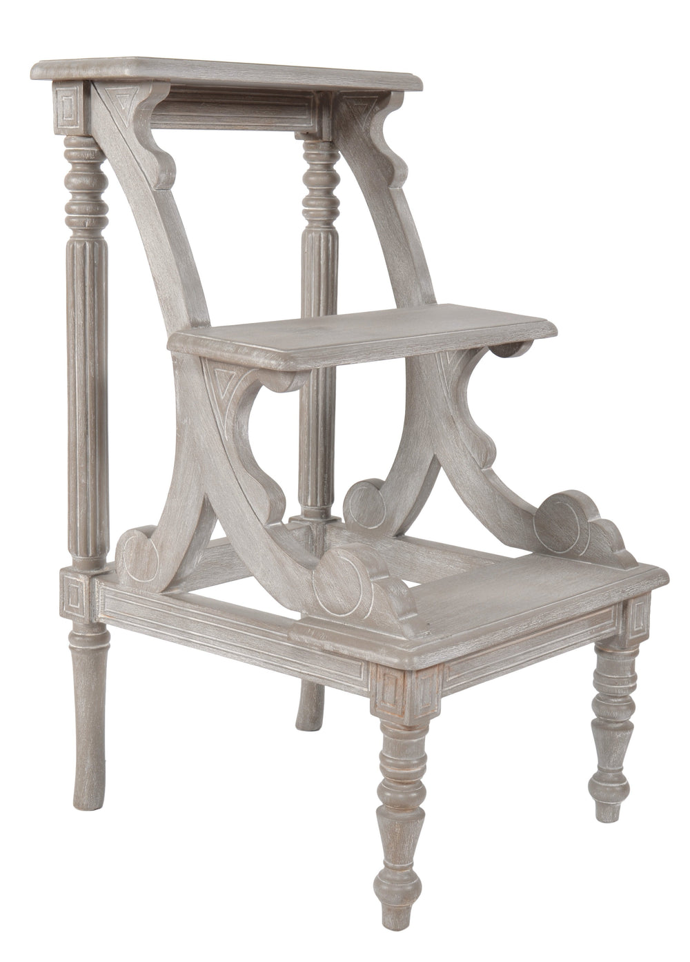 AFD Mystique Grey Library Step Chairs AFD Grey