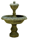 Acqua Terminus Cast Stone Outdoor Garden Fountain Fountain Tuscan