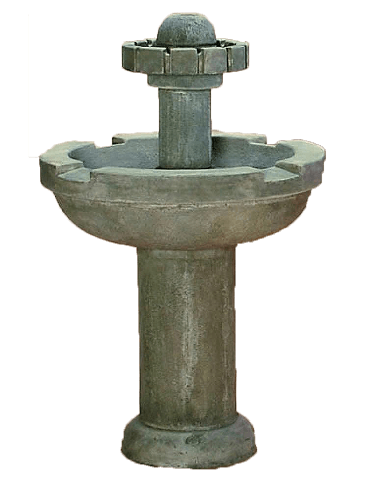 Moderna Cast Stone Outdoor Garden Fountain Fountain Tuscan