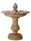 Pavia Pineapple Cast Stone Outdoor Garden Fountain Fountain Tuscan