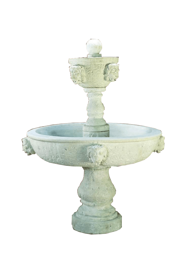 Pompeana Cast Stone Outdoor Garden Fountain Fountain Tuscan