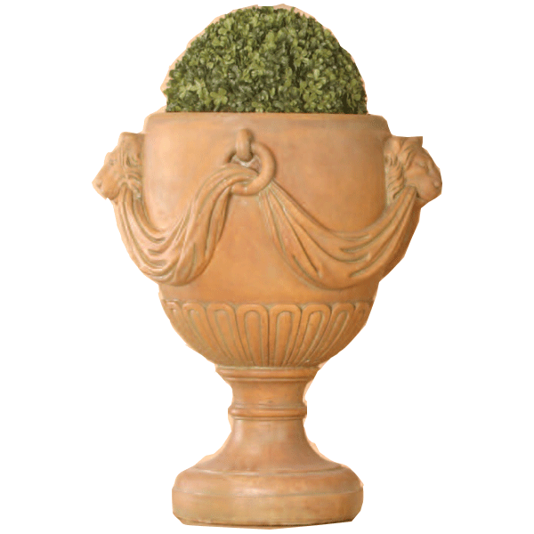 Atinori Urn  Cast Stone Outdoor Garden Planter