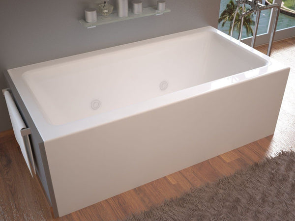 Atlantis Whirlpools Soho 30 x 60 Front Skirted Whirlpool Tub with Right Drain