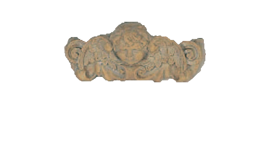 Angel Wing Plaque Cast Stone Outdoor Asian Collection Wall Ornament Tuscan