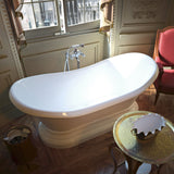 Atlantis Whirlpools 3471RS Reef 34 x 71 Oval Freestanding Soaker Bathtub