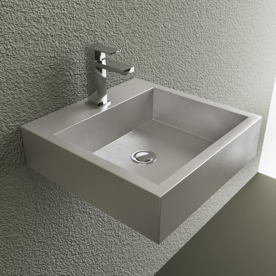 Cantrio Stainless steel vessel sink Steel Series Cantrio
