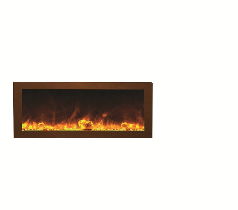 Amantii Steel surround for BI-40-DEEP or BI-40-SLIM Electric Fireplace Amantii