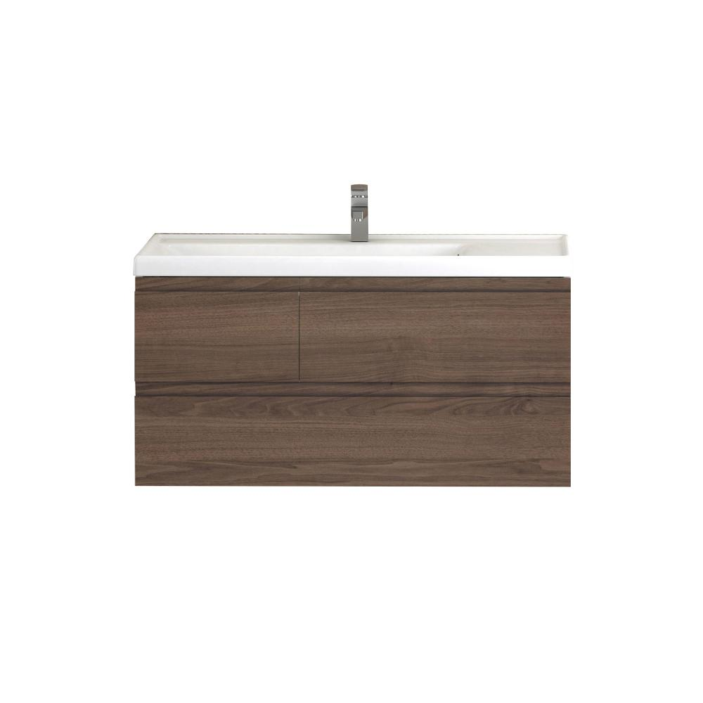 Eviva Roxy 39″ Natural Oak Vanity with Porcelain sink Vanity Eviva
